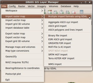 Import raster file with gdal