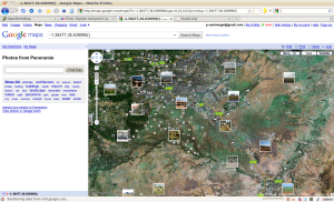 Figure 5. Nairobi National Park and surroundings in Google maps.